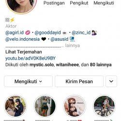 centang biru akun instagram