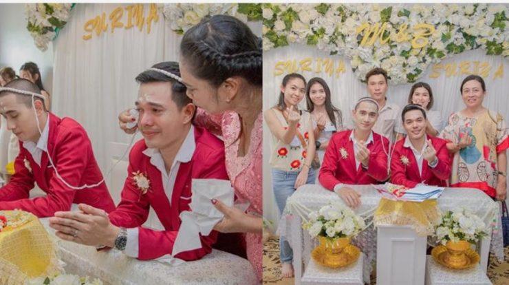 Pasangan Gay Thailand Menikah dan Dapat Ancaman Pembunuhan dari Netizen Indonesia?