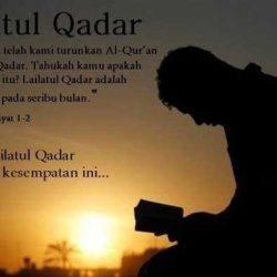 Tata Cara Sholat Malam Lailatul Qadar