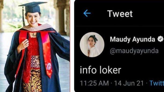 viral Maudy Ayunda Twitter