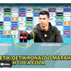 Video ronaldo geser coca cola