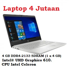 Harga Laptop hp 14s CF1051TU - feature