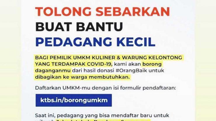 program Ktbs in borongumkm