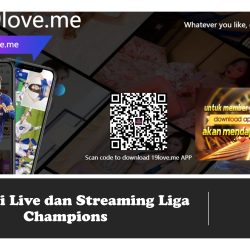 Aplikasi Live dan Streaming Liga Champions
