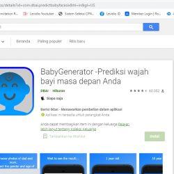 Baby Game Prediksi Wajah