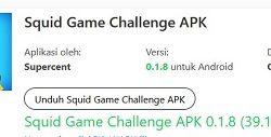 Squid game challenge apk